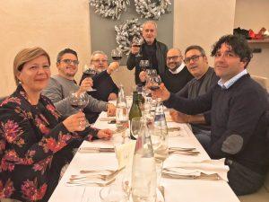 Cena di Gala, staff completo Italian Pool