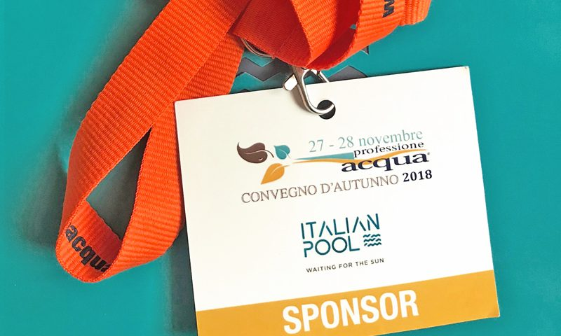 Italian Pool Spnsor Convegno d'Autunno 2018