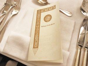 cena di gala Convegno d'Autunno