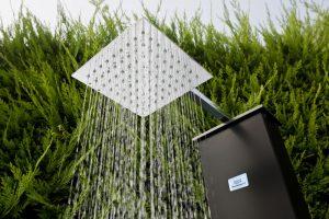 soffione doccia solare Futura prodotto da Italian Pool