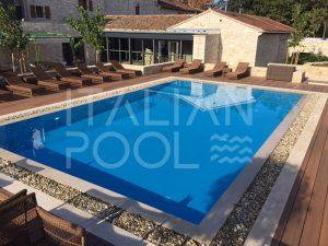 piscina in albergo di italian pool srl