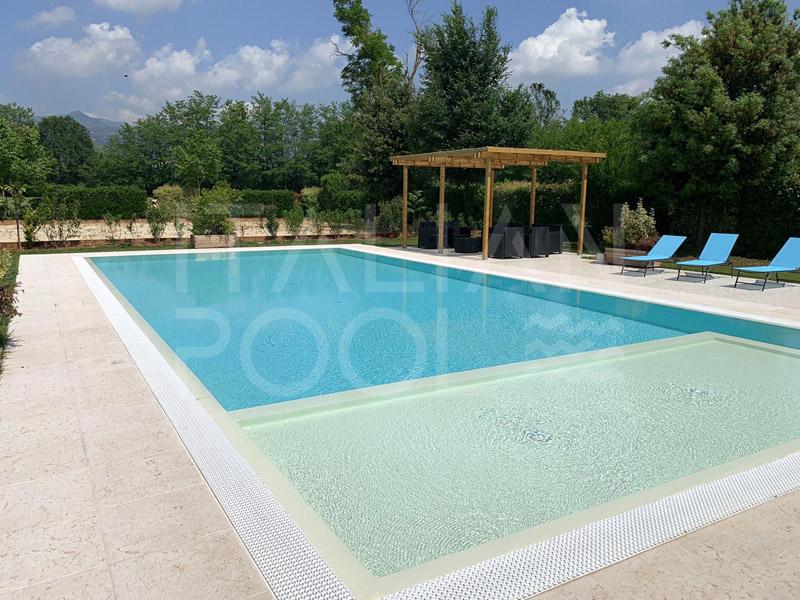 piscina del B&B Al Mulino - Brescia