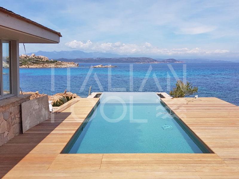 piscina casa al mare di italian pool srl