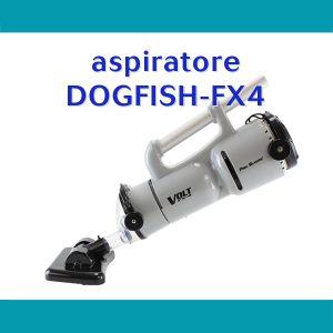 aspiratore Dogfish Fx4 per la pulizia del fondo della piscina