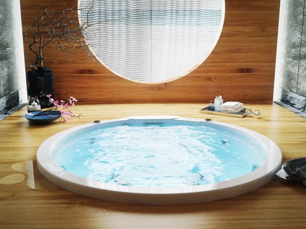 vasca spa con skimmer Victoria